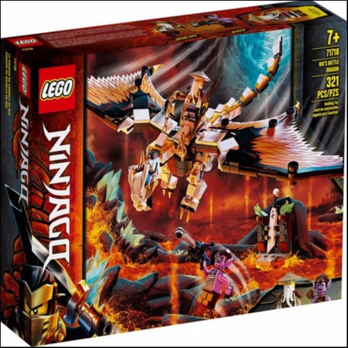 Lego<br>Ninjago Wu's Battle Dragon 71718